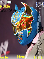 Sin Cara theme screenshot