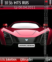 Marussia theme screenshot