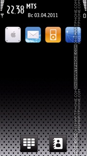 Iphone 5th Refresh 01 theme screenshot