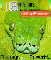 K1 Snake es el tema de pantalla