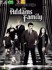 The Addams Family tema screenshot