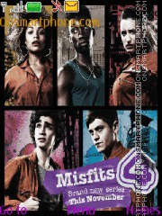 Misfits 01 theme screenshot