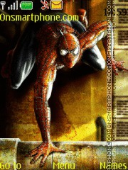 Spiderman 07 theme screenshot
