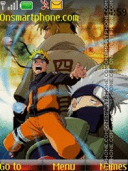 Naruto 2015 tema screenshot
