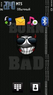 Born Bad 02 es el tema de pantalla