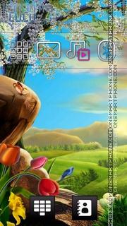 3d Nature tema screenshot