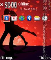 Valentineb es el tema de pantalla