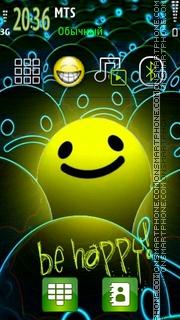 Be Happy 05 tema screenshot