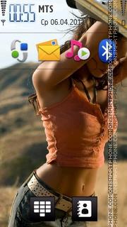 Скриншот темы Megan Fox 29