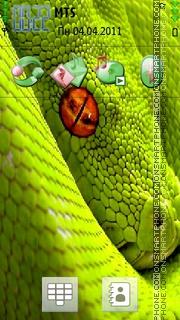 Snake Hd theme screenshot