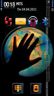 Save Earth 03 theme screenshot