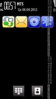 Скриншот темы Omnia