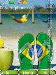 Brazil 2018 theme screenshot