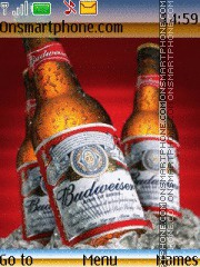 Budweiser 06 theme screenshot