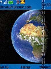 Скриншот темы Earth 93