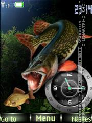 Fishing 01 theme screenshot