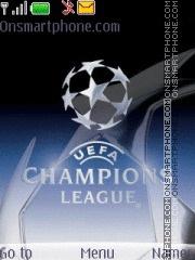 Champions League Screensaver animated theme screenshot