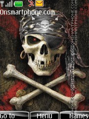 Skull new edition theme screenshot