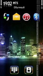 City Lights 01 Theme-Screenshot