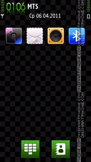 Square Matrix 01 theme screenshot