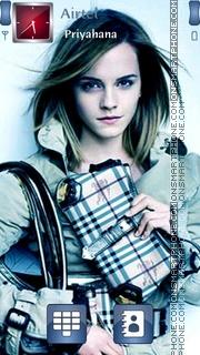 Emma Watson 24 theme screenshot