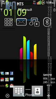 Скриншот темы Android Nokia Style