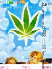 Cannabis tema screenshot