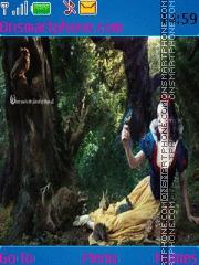 Скриншот темы Snow White