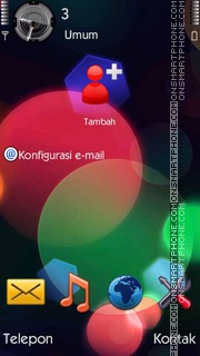 Circles II tema screenshot