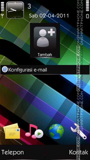 Crystal tema screenshot