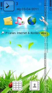 Summer tema screenshot