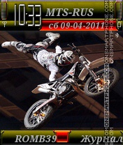 Freestyle motocross By ROMB39 theme screenshot
