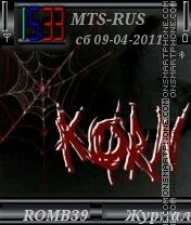 Korn By ROMB39 tema screenshot