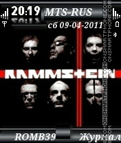 Rammstein By ROMB39 tema screenshot