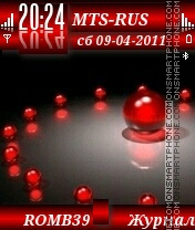 Red2 By ROMB39 theme screenshot