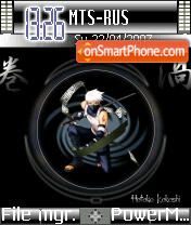 Kakashi 01 theme screenshot