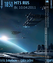StarNavy tema screenshot