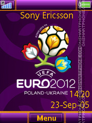 Euro2012 theme screenshot