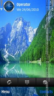 Nature Lake theme screenshot