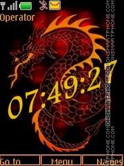 Dragon swf theme screenshot