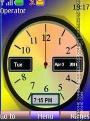 Analog Clock 2 theme screenshot