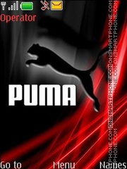 Puma swf theme screenshot