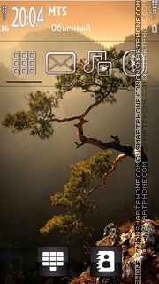Lonely Tree 01 theme screenshot