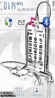 3d Sketch 2011 es el tema de pantalla