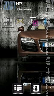 Capture d'écran Audi 18 thème
