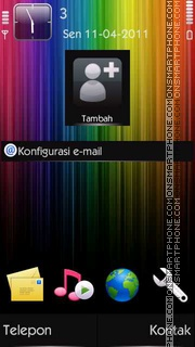Rainbow [N8 Icon] tema screenshot