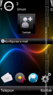 Lines tema screenshot