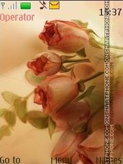 Art roses tema screenshot