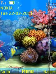 Aquarium animated 01 Theme-Screenshot