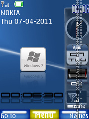 Se7en Sidebar theme screenshot